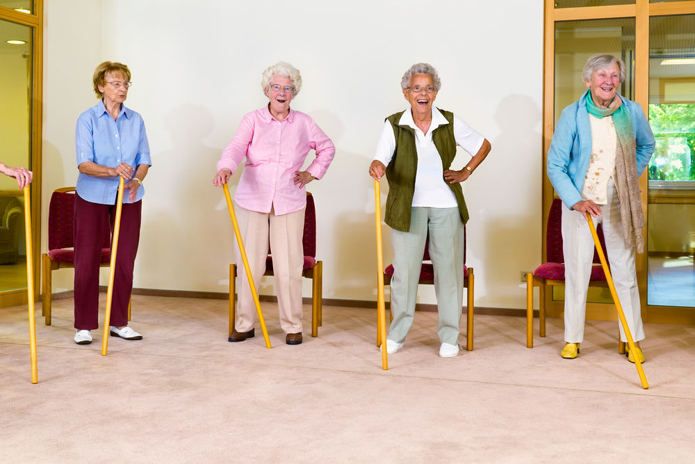 Bilui Care Home Exercise vanessa watson personal trainer mobberley